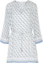 Joie Chastain printed silk-chiffon mini dress