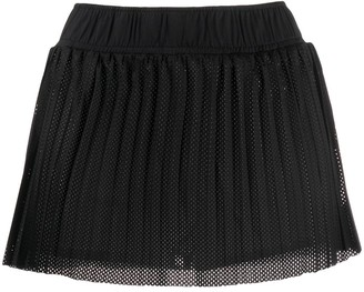 Kappa Pleated Perforated Shorts