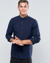 Jack Wills Oxford Shirt In Regular Fit In Navy