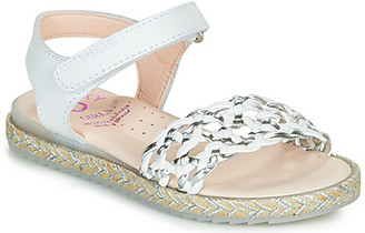 Pablosky Kids girls's Sandals in White