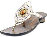 Chinese Laundry Z-UFO Women US 9.5 Silver Thong Sandal
