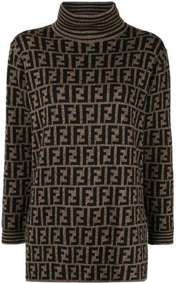 Fendi Pre-Owned FF logo jumper