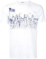 Moncler printed T-shirt - men - Cotton - S
