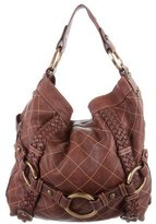 Isabella Fiore Quilted Leather Bag