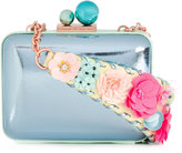 Sophia Webster embellished shoulder strap cross body bag - women - Leather - One Size