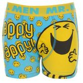 Character Kids Childrens Mr Men Single Boxer Shorts Infants Boys Underwear