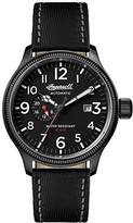 Ingersoll Men's Automatic Stainless Steel and Nylon Casual Watch, Color:Black (Model: I02801)
