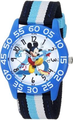 Disney Boys Mickey Mouse Analog-Quartz Watch with Nylon Strap