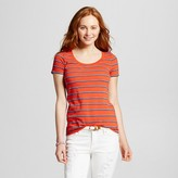 Mossimo Women's Scoop Neck T-Shirt Juniors')