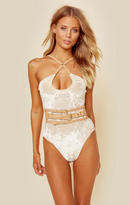 For love and lemons faux leather belt