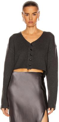SABLYN Bianco Crop Sweater in Stone | FWRD