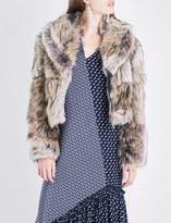 Stella McCartney Masha faux-fur cropped jacket