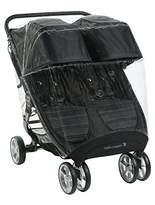 Baby Buki90112Rain Cover for Twin Pram