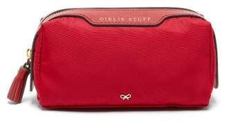 Anya Hindmarch Girlie Stuff Make-up Bag - Womens - Red