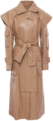 Zimmermann Belted Leather Coat