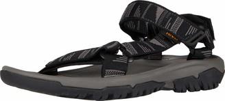 Teva Men's Slingback Sling Back Sandals Black Chara Black Grey Cbgry 7 UK