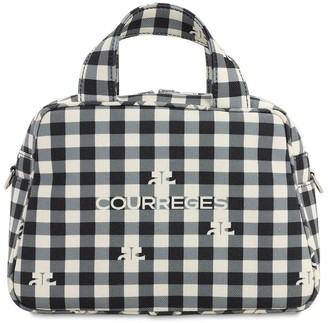 Courreges PRINTED TOP HANDLE BAG
