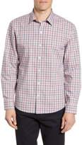 Zachary Prell Schmidt Regular Fit Plaid Button-Up Shirt