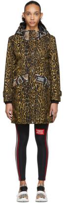 Burberry Black and Brown Cramond Coat