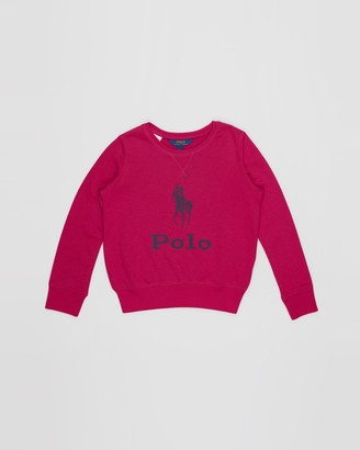 Polo Ralph Lauren Big Pony French Terry Pullover - Teens