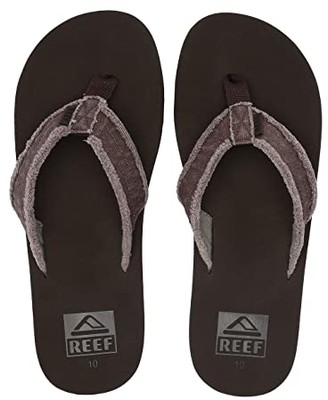 Reef Twinpin Fray (Brown) Men's Sandals