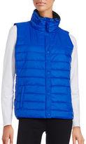 Calvin Klein Baffle Zippered Puffer Vest