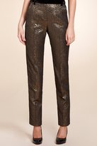 Limited Collection Floral Jacquard Trousers