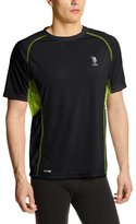 U.S. Polo Assn. Men's Raglan Poly Mesh Top