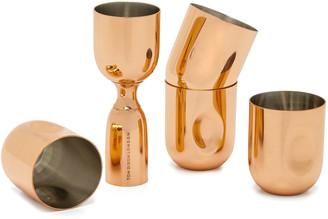 Tom Dixon Plum Shot Glasses & Measure Gift Set