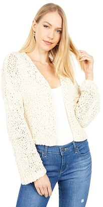 Free People Daiquiri Cardi (Ivory) Women's Clothing
