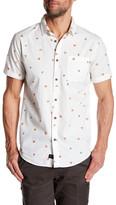 Globe Short Sleeve Pizza Print Shirt