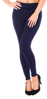 Missy Empire Dina Navy Plain Legging