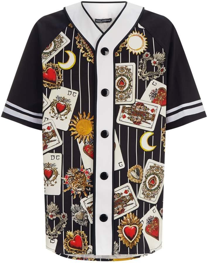 Dolce & Gabbana Heart Cards Shirt