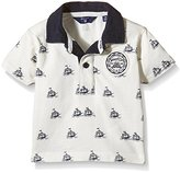 Gant Baby Boys 0-24m Sc Ss Rugger Allover Print Polo Shirt