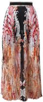 Roberto Cavalli floral print pleated skirt - women - Silk - 42