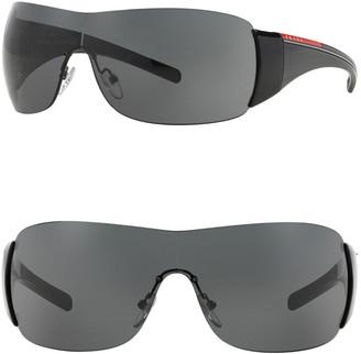 Prada Linea Rossa Shield 133mm Sunglasses