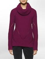 Calvin Klein Chunky Funnel Neck Sweater