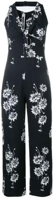 McQ Floral Print Jumpsuit