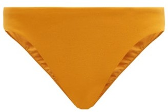 Haight Basic Low-rise Crepe Bikini Briefs - Orange