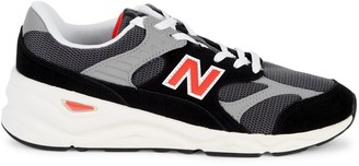 New Balance X-90 Sports Style Mesh & Suede Runners