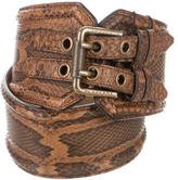 Burberry Python Waist Belt w/ Tags