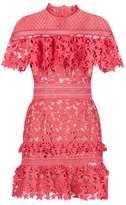 Self-Portrait Star Frill Mini Dress