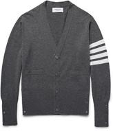 Thom Browne - Slim-fit Striped Cashmere Cardigan