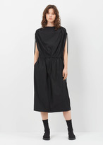 Jil Sander black calamaio dress