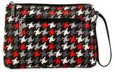 Kalencom Diaper Clutch in Red Houndstooth