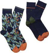 White Stuff Tropical 2 Pack Socks