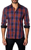 Jared Lang Tartan Cotton Sportshirt