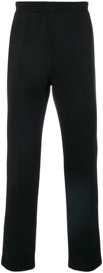Givenchy logo patch track pants