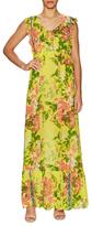 Plenty by Tracy Reese Flounced Daytime Print Maxi Dress