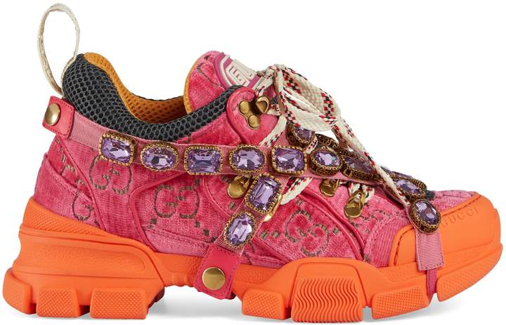 e75fe701e Gucci Patch Sneaker - ShopStyle